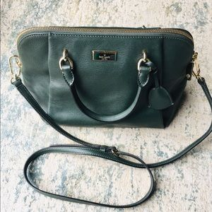 Kate Spade Green Pebble Satchel
